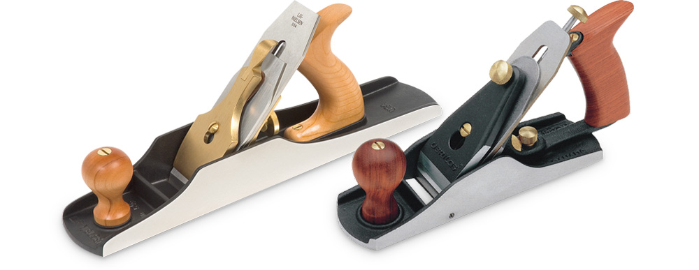 L to R: Lie-Nielsen No. 5 1/2 Jack Plane and Veritas No. 4 Smoothing Plane