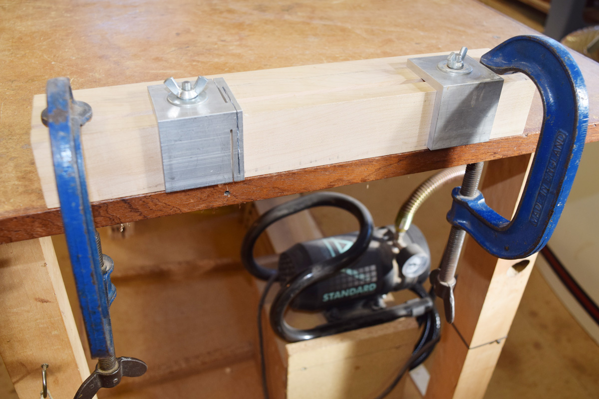 Robert Ingham dovetail transfer jig