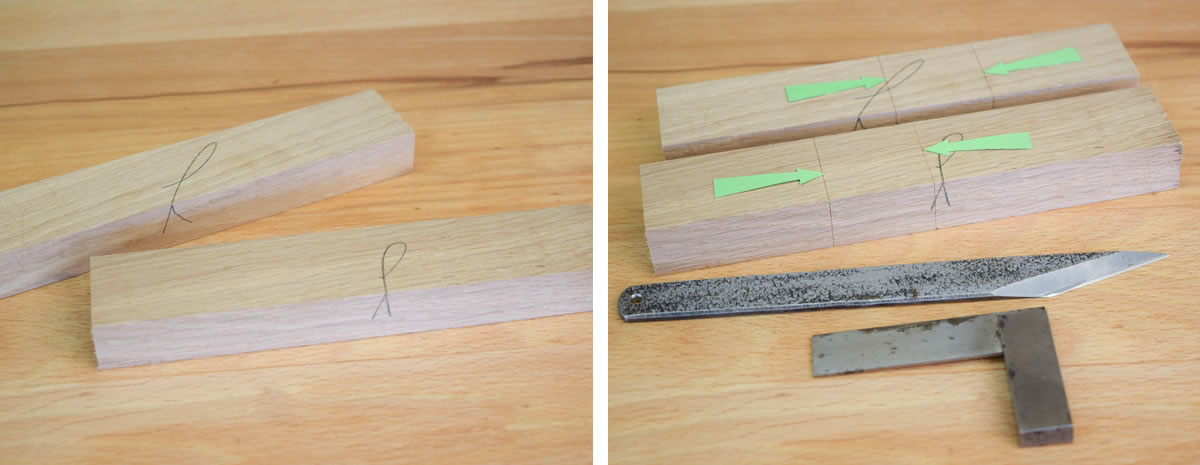 how to make across halving joint