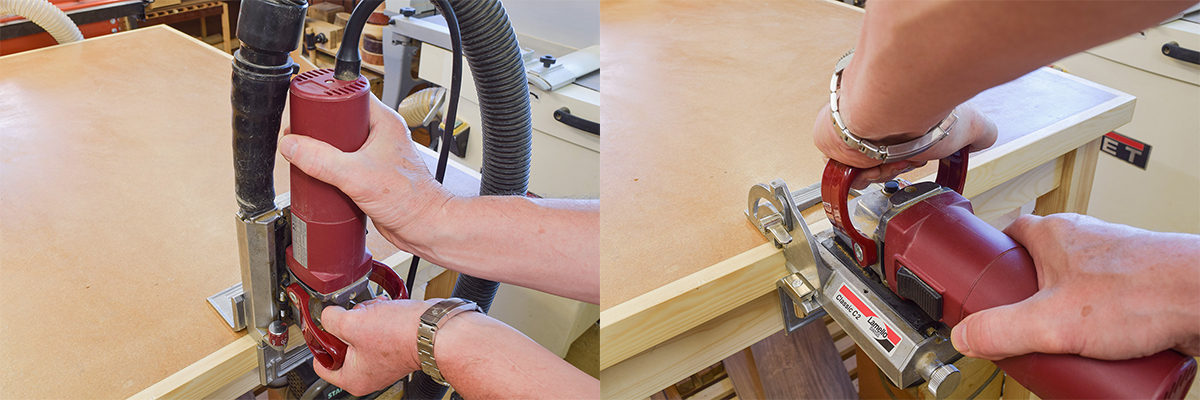 Correctly Using the Biscuit Jointer
