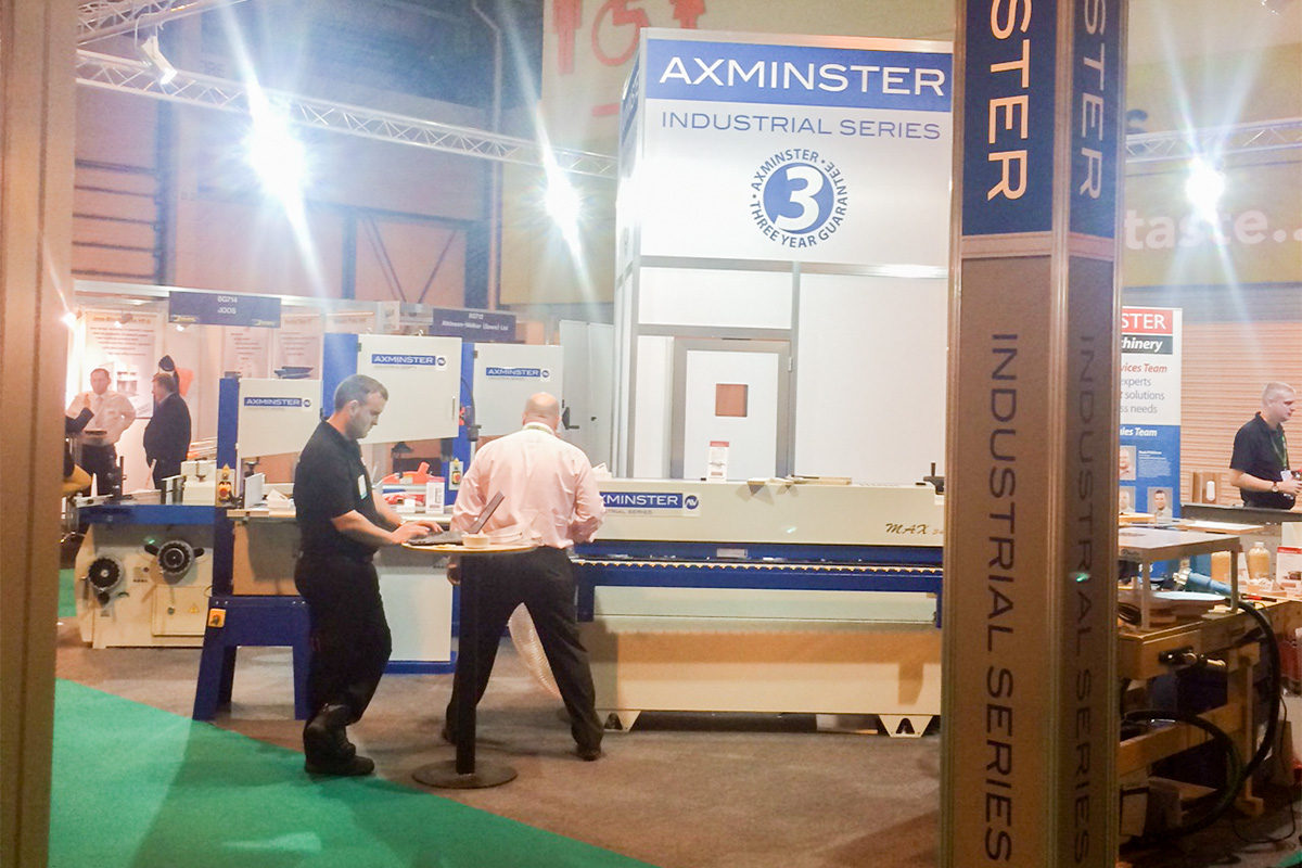 Axminster's stand at W14