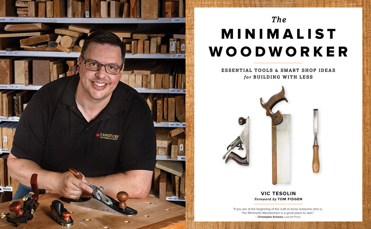 minimalist woodworker vic tesolin to demo in cardiff and