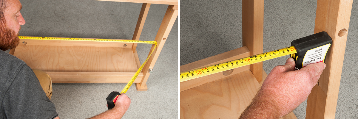 tape measure body inner length corners