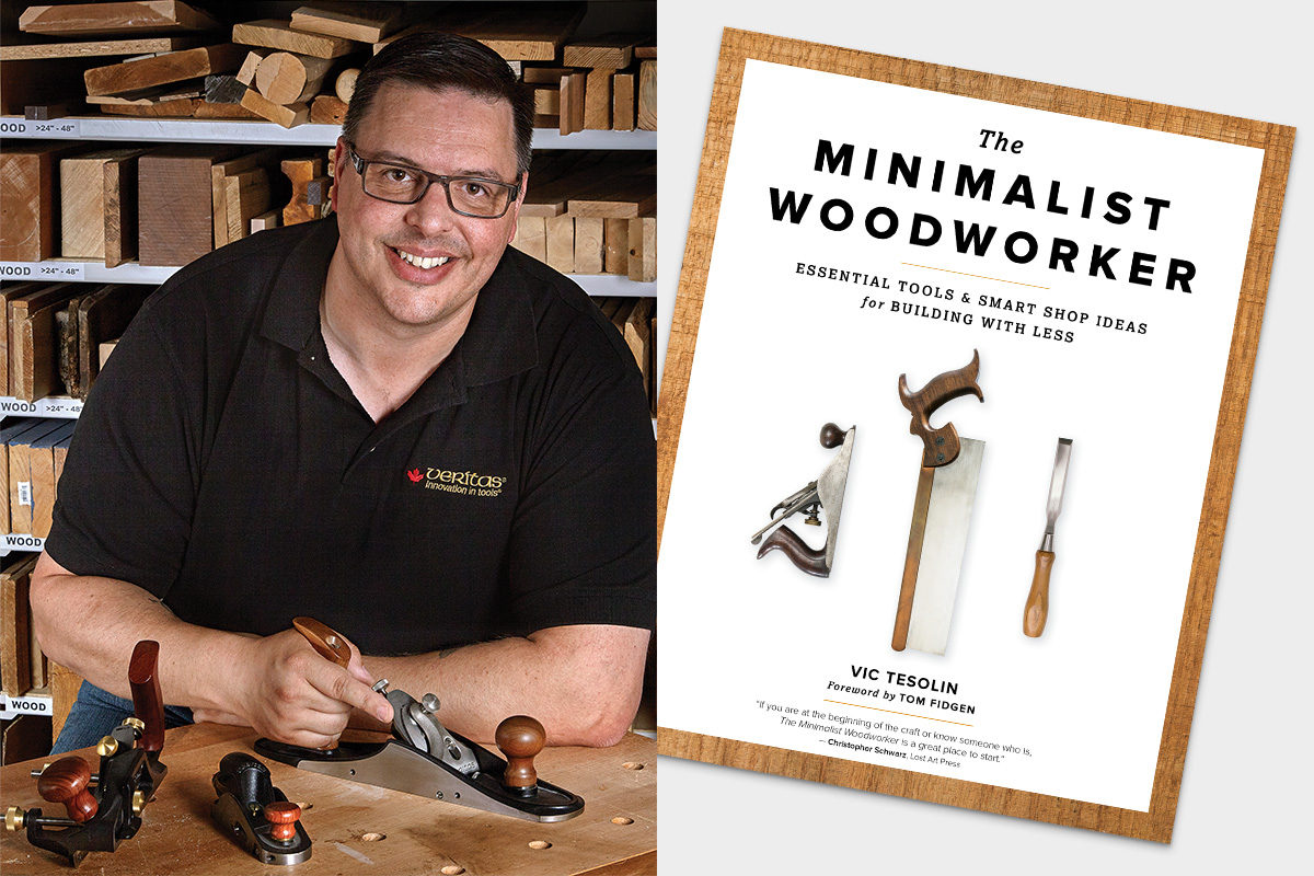 Minimalist Woodworker Vic Tesolin to demo in Cardiff and Harrogate - The Knowledge Blog