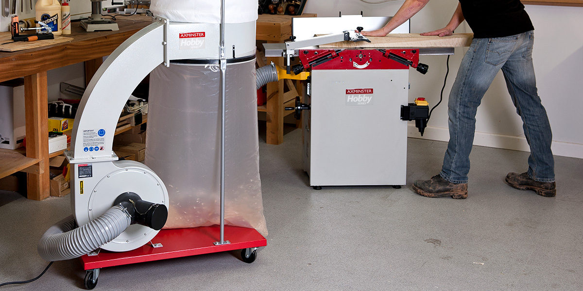 Dust Extractor For Large Home Workshop