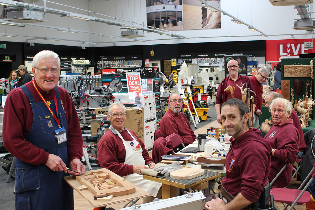 the big woodworking weekend comes to our cardiff store