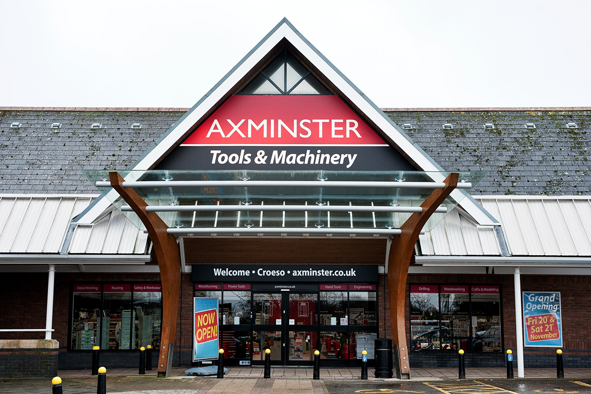 Axminster Tools & Machinery - Cardiff Store