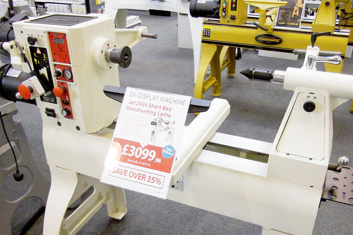 JET 2424 Woodturning Lathe