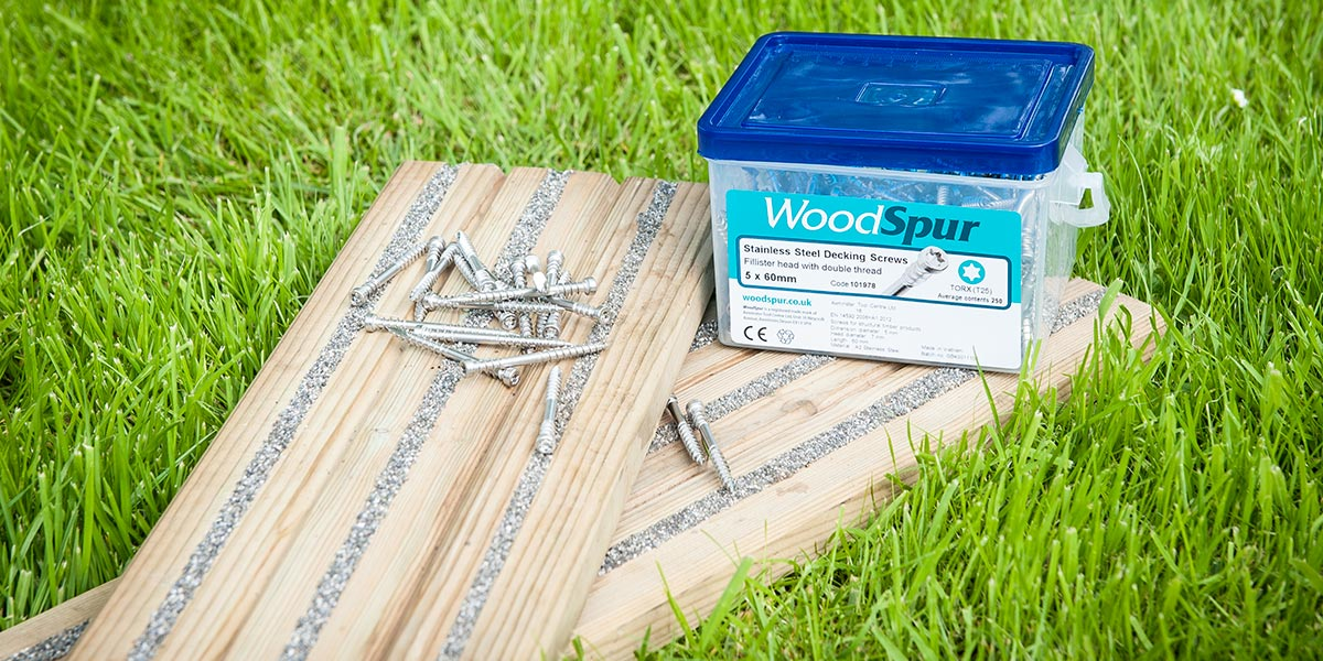 WoodSpur decking screws