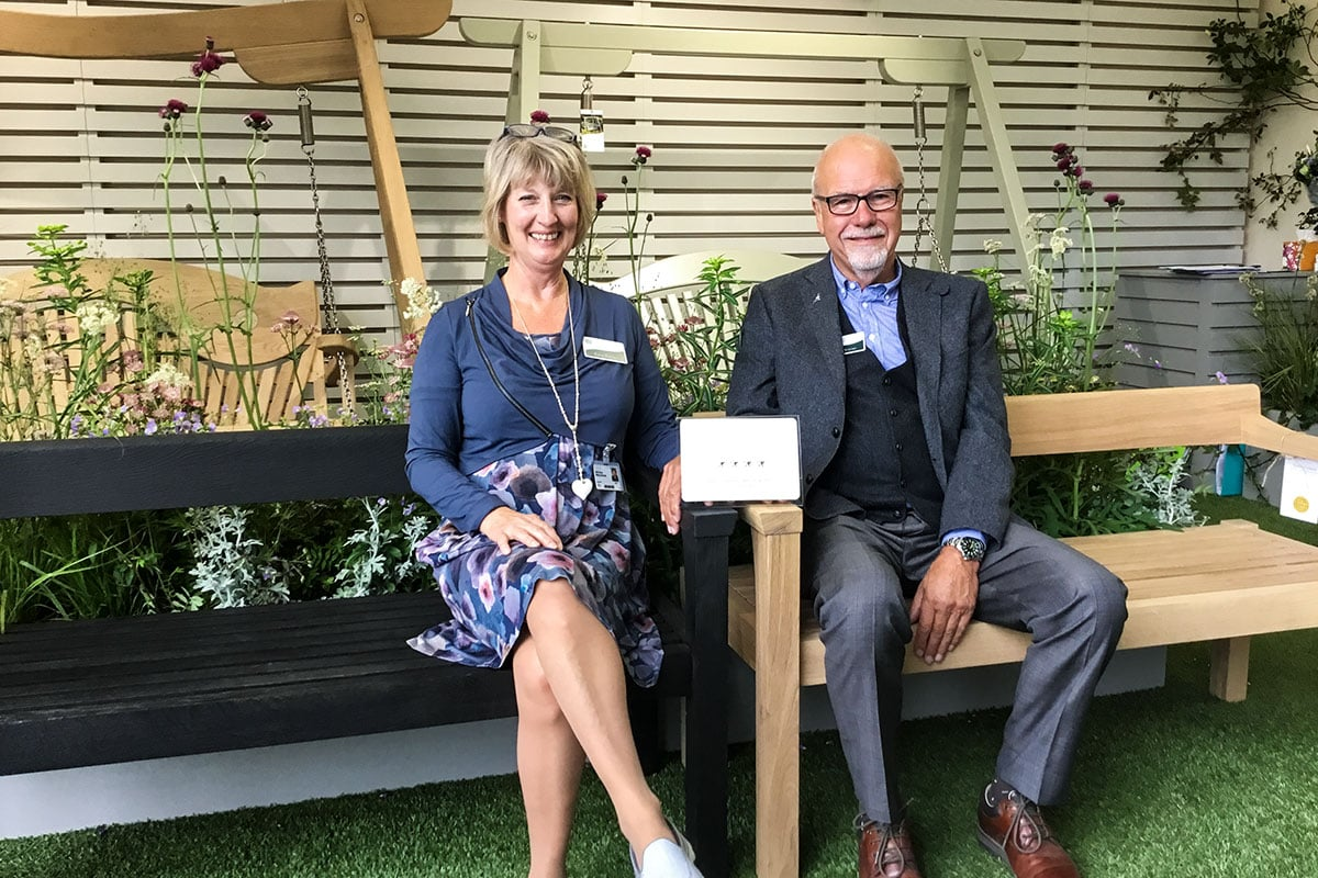 Sitting Spiritually at Chelsea Flower Show