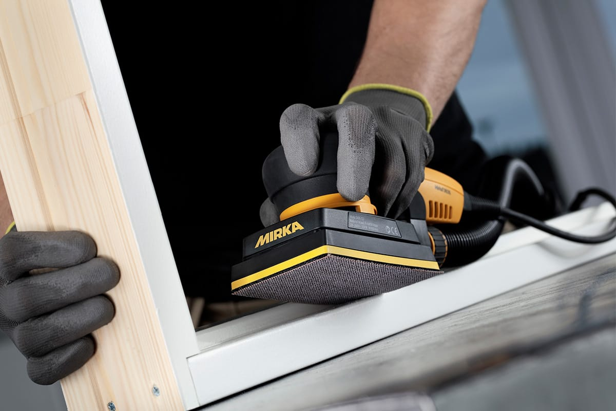 what s different about the deos mirka s new orbital sander the