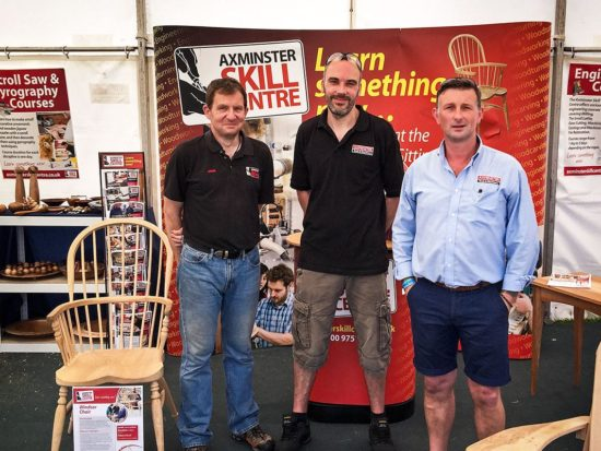 Axminster Skill Centre at the Axe Vale Show