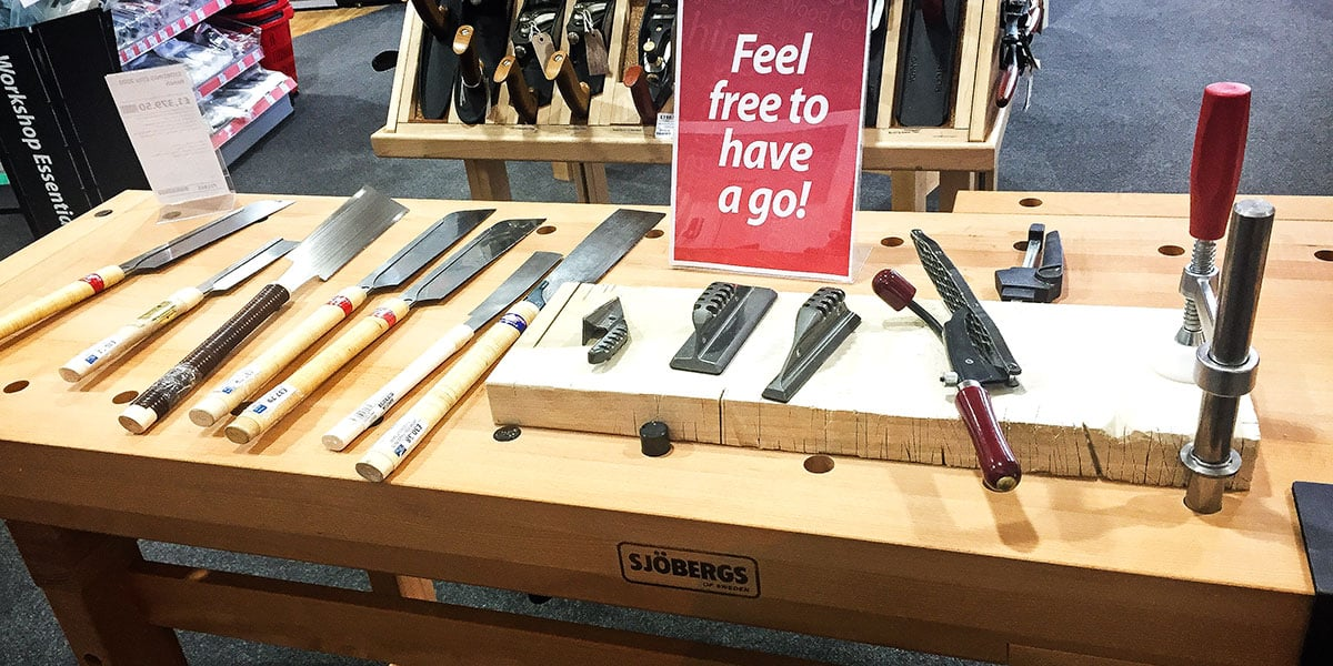 Try out Japanese saws