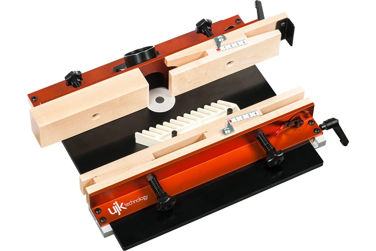 Double your routers versatility with a new palm router table the router table top view keyboard keysfo Images