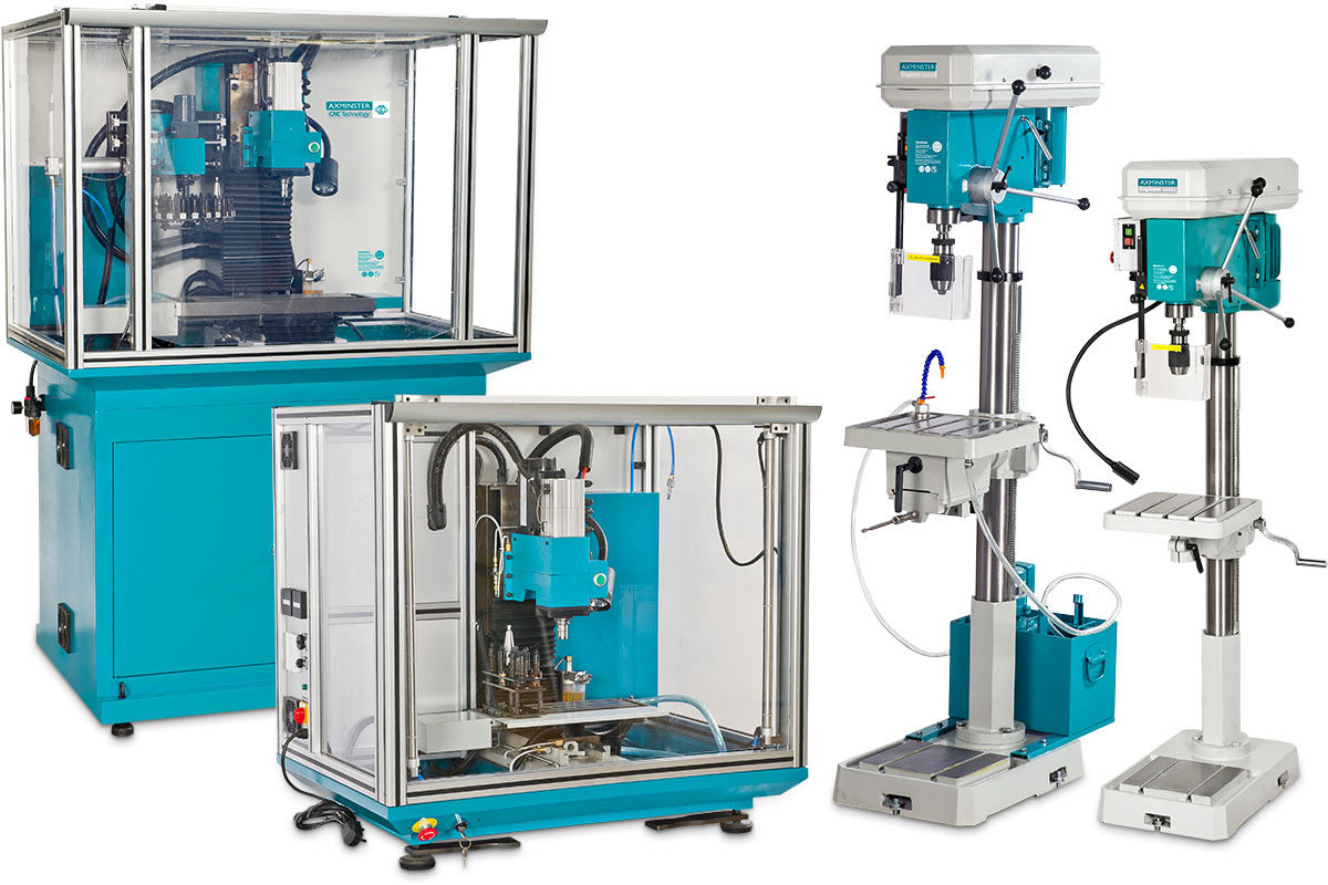 Axminster Engineer Series Machines