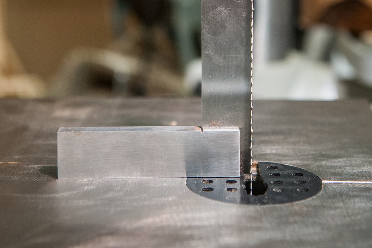 Getting the blade square to the table