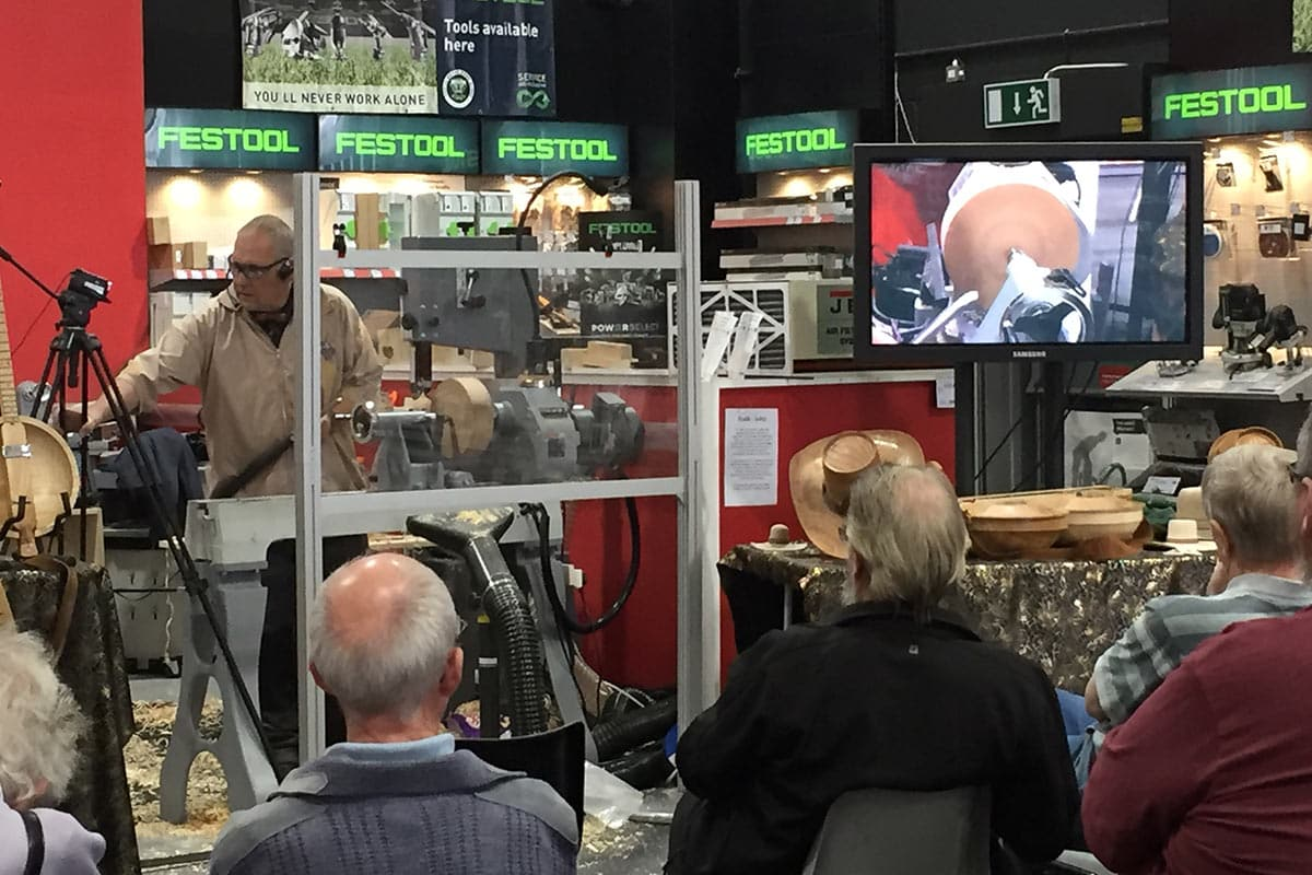 Andrew Hall Woodturning Demonstration