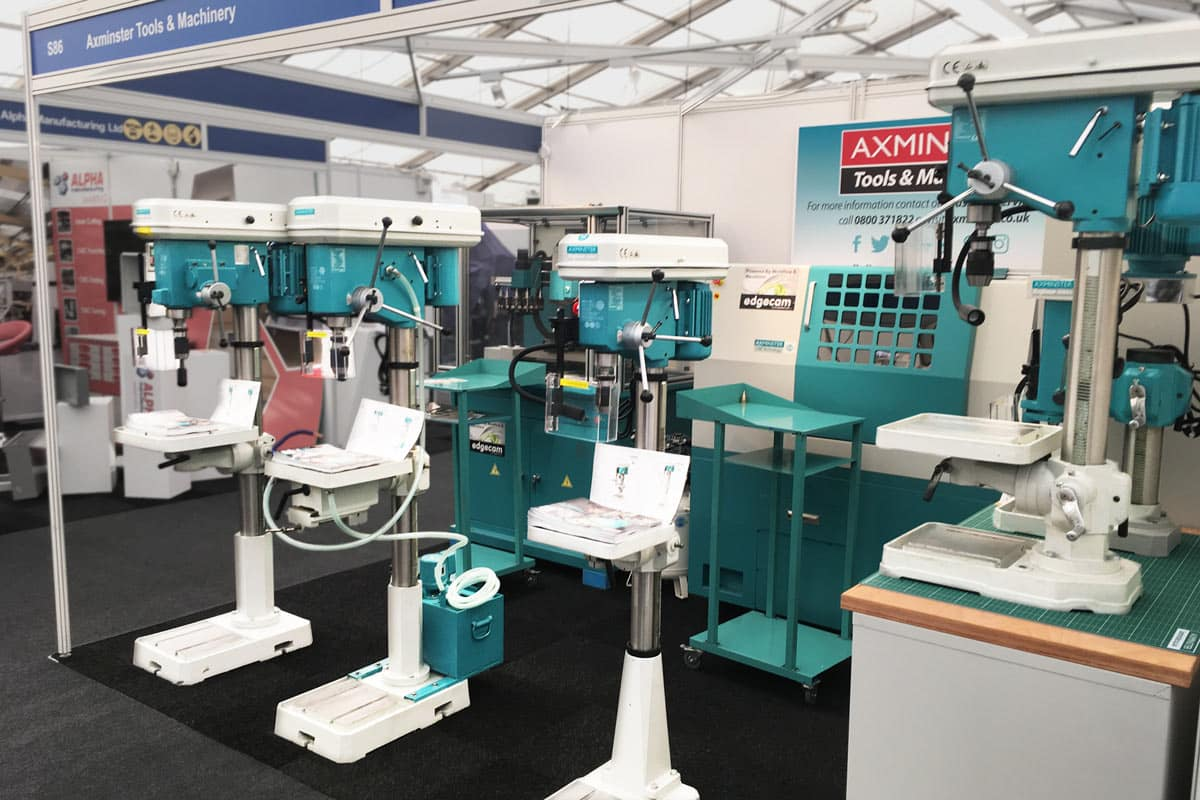 CNC Machines at the Northern Manufacturing Exhibition