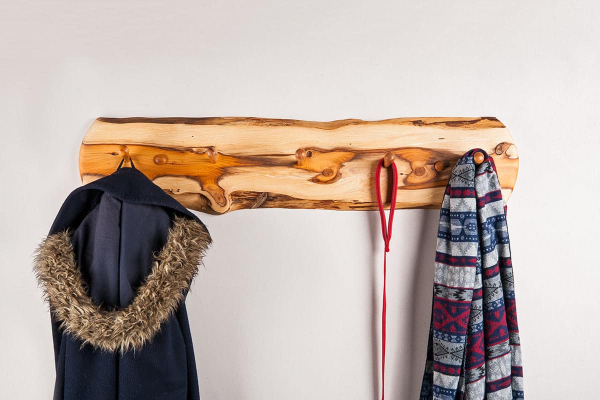 How to make a coat hook rack