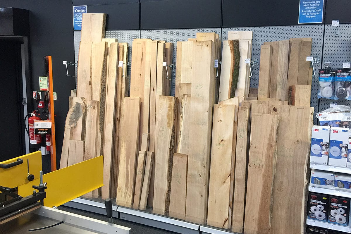 Timber available in store