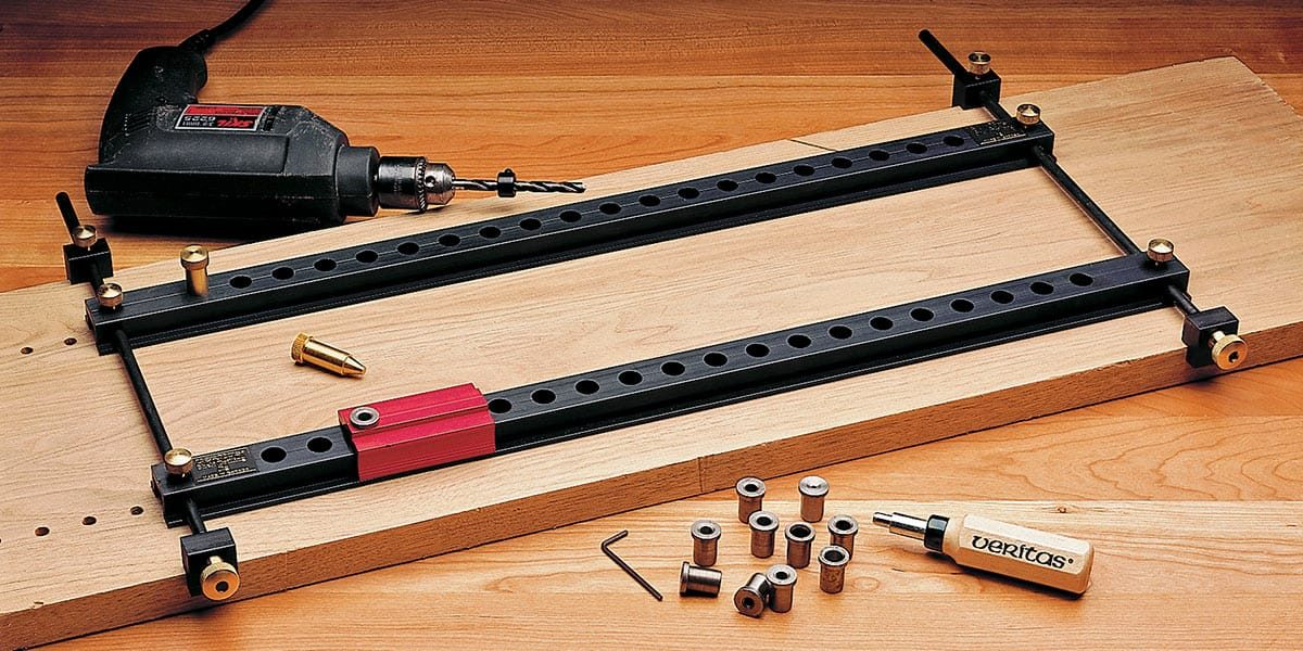 Veritas Shelf-Drilling Jig