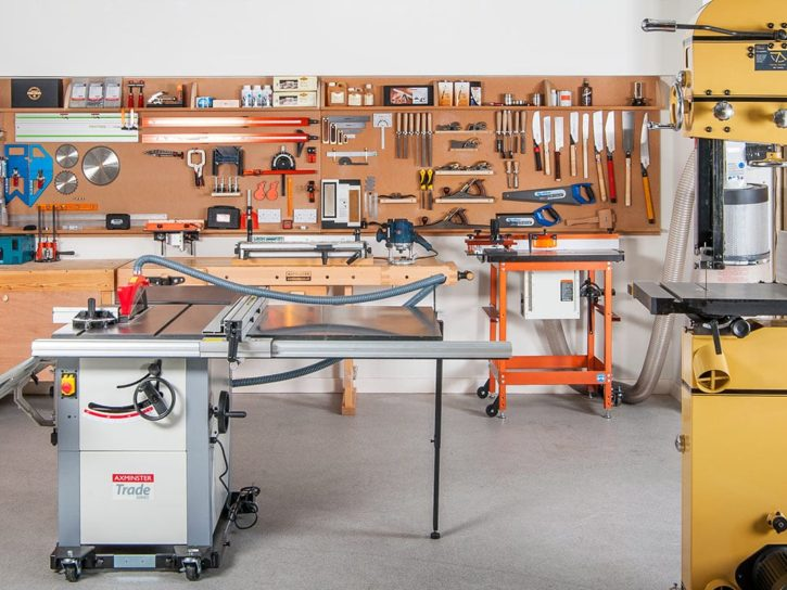 The ultimate woodworking workshop