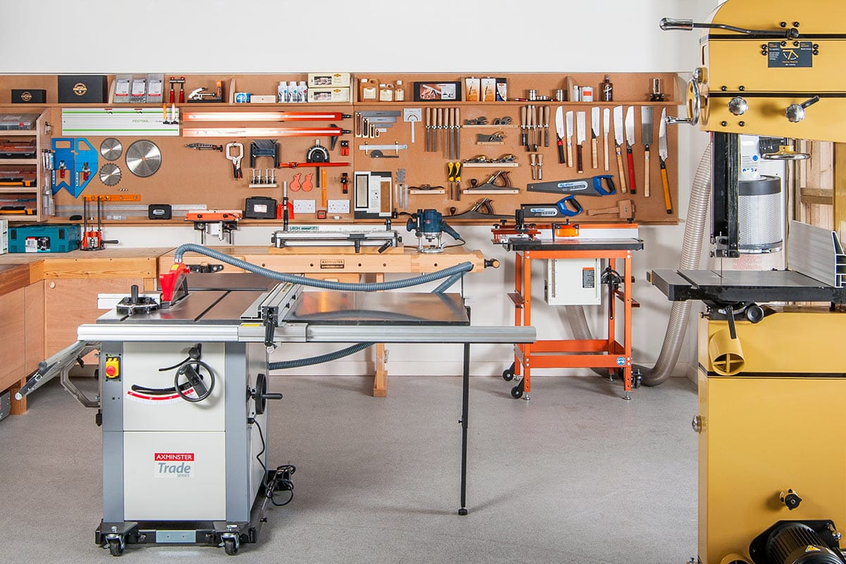 A Step Towards The Ultimate Woodworking Workshop Dream Big