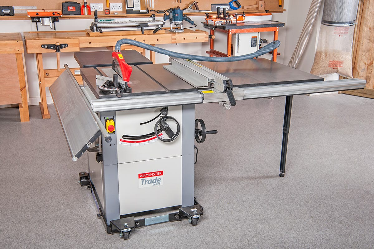 Axminster Trade Series AW12BSB2 Saw Bench