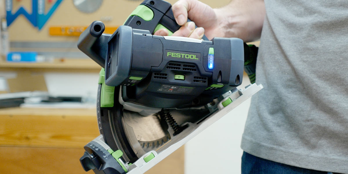 Festool bluetooth-capable battery pack