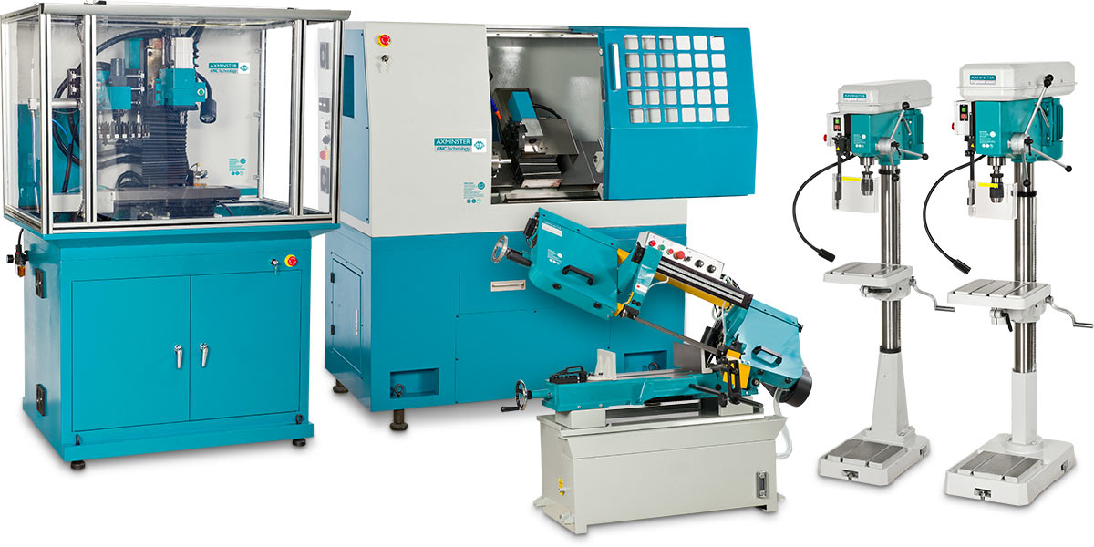 Axminster CNC Technology & Axminster Engineering Series machines