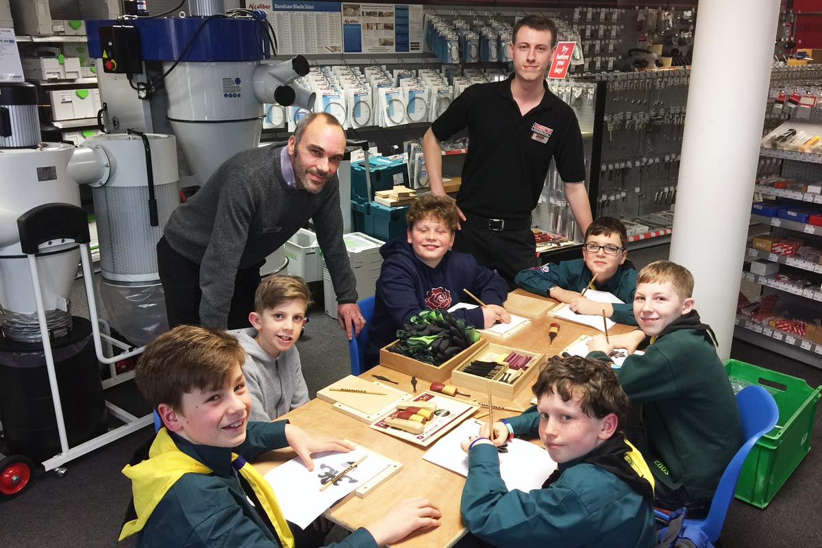 Ottery St Mary Scout group