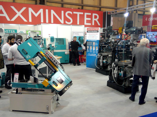 Axminster Engineer Series, CNC and JET machinery