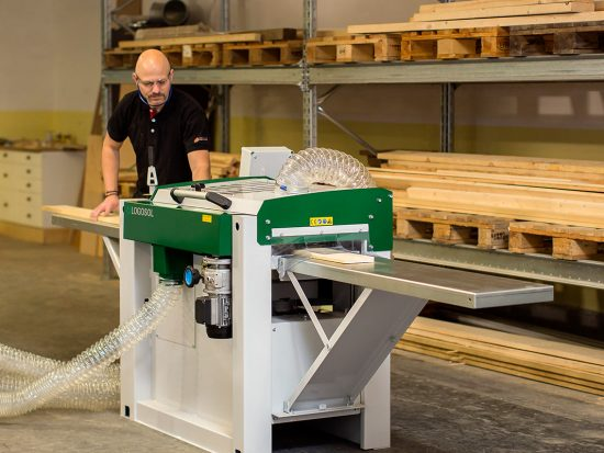 Logosol four-sided planer moulder