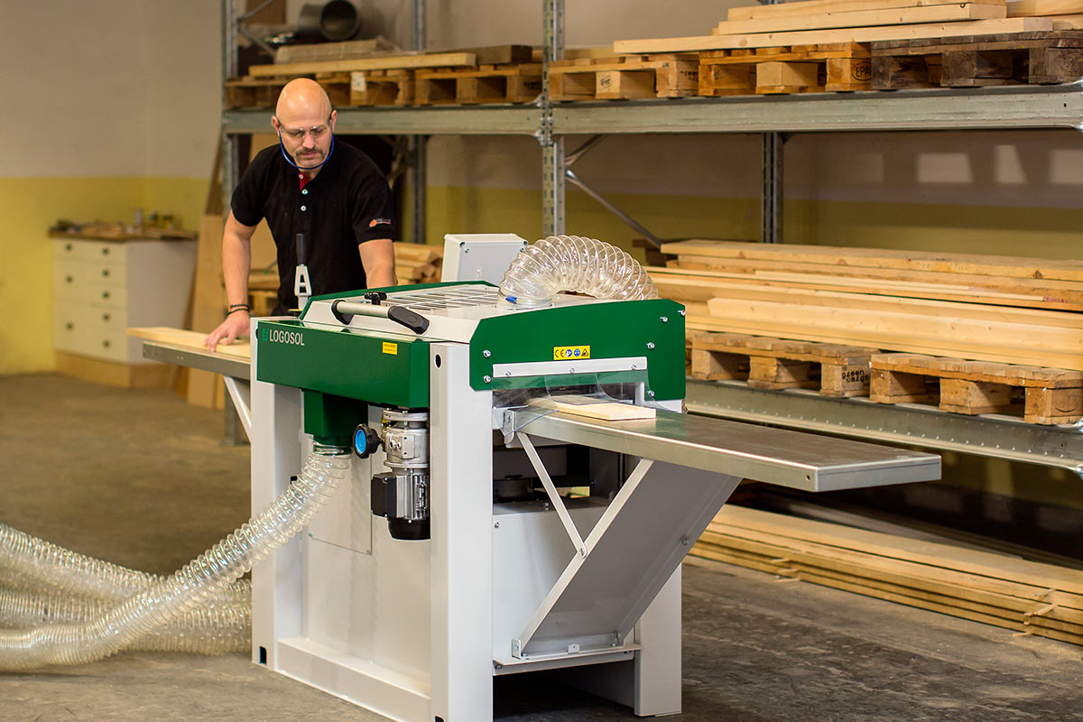 4 Sided Planer