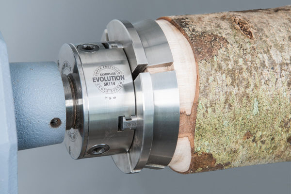 Axminster Evolution SK114 Woodturning Chuck