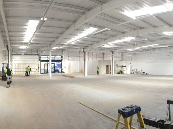 New North Shields store internal