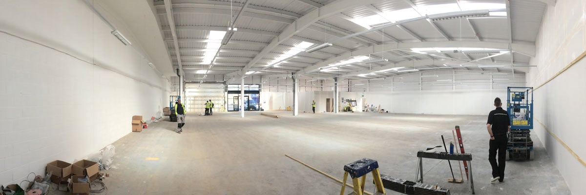 The start of work at the new North Shields store.
