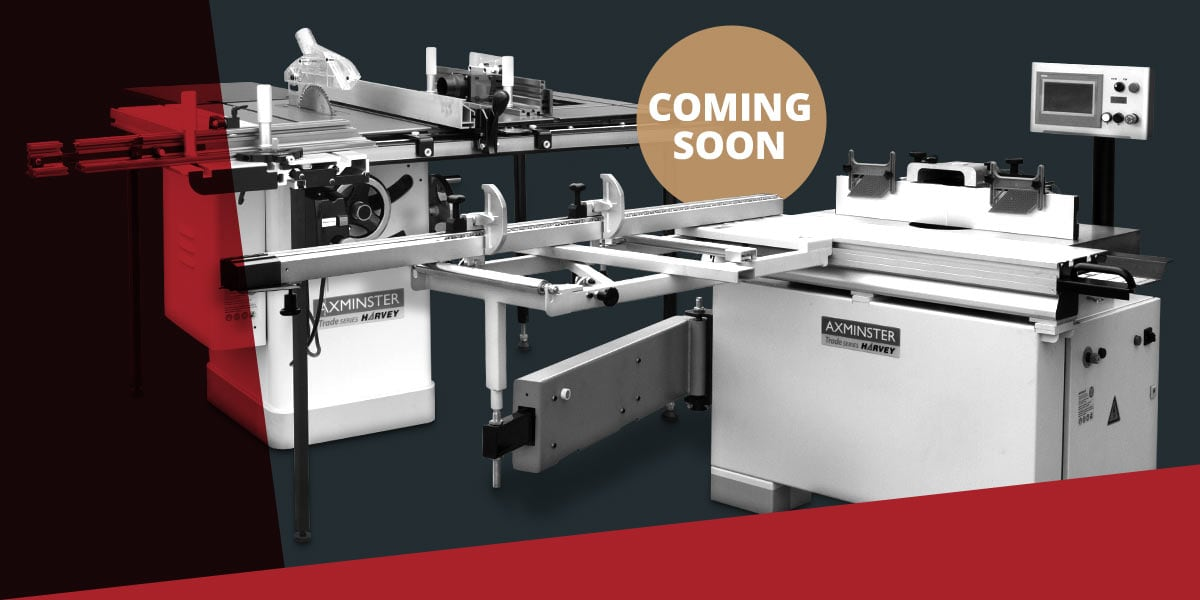 Coming soon... The HW110LGE Table Saw Work Station and The E-305S Eagle CNC Tilting Spindle Moulder