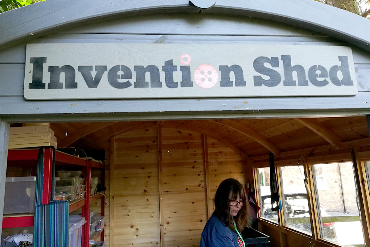 Invention Shed