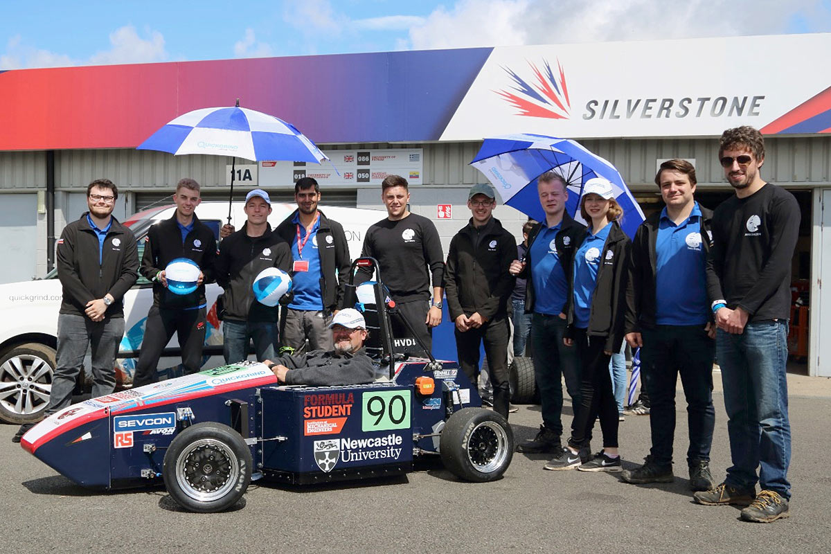 Newcastle Racing at Silverstone