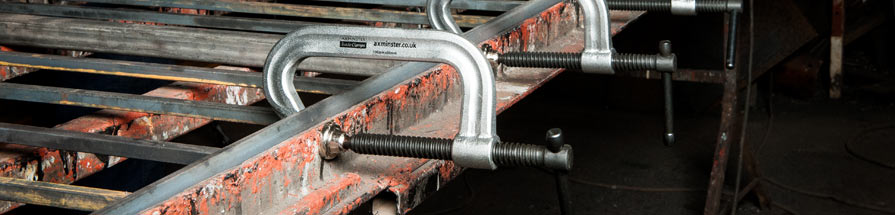 Axminster Trade Clamps range
