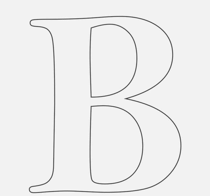 Boo (Letter B)