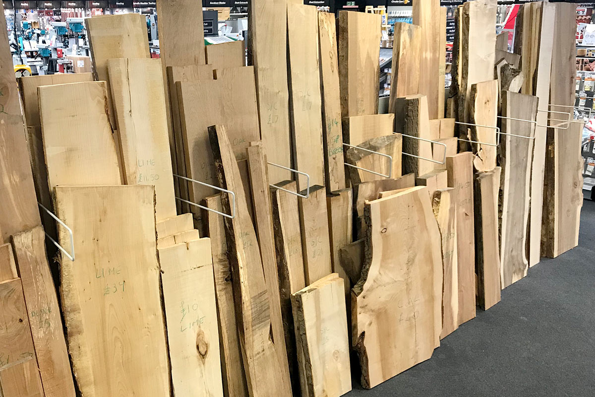 For all your project needs - come and see our selection of sustainable timber in-store