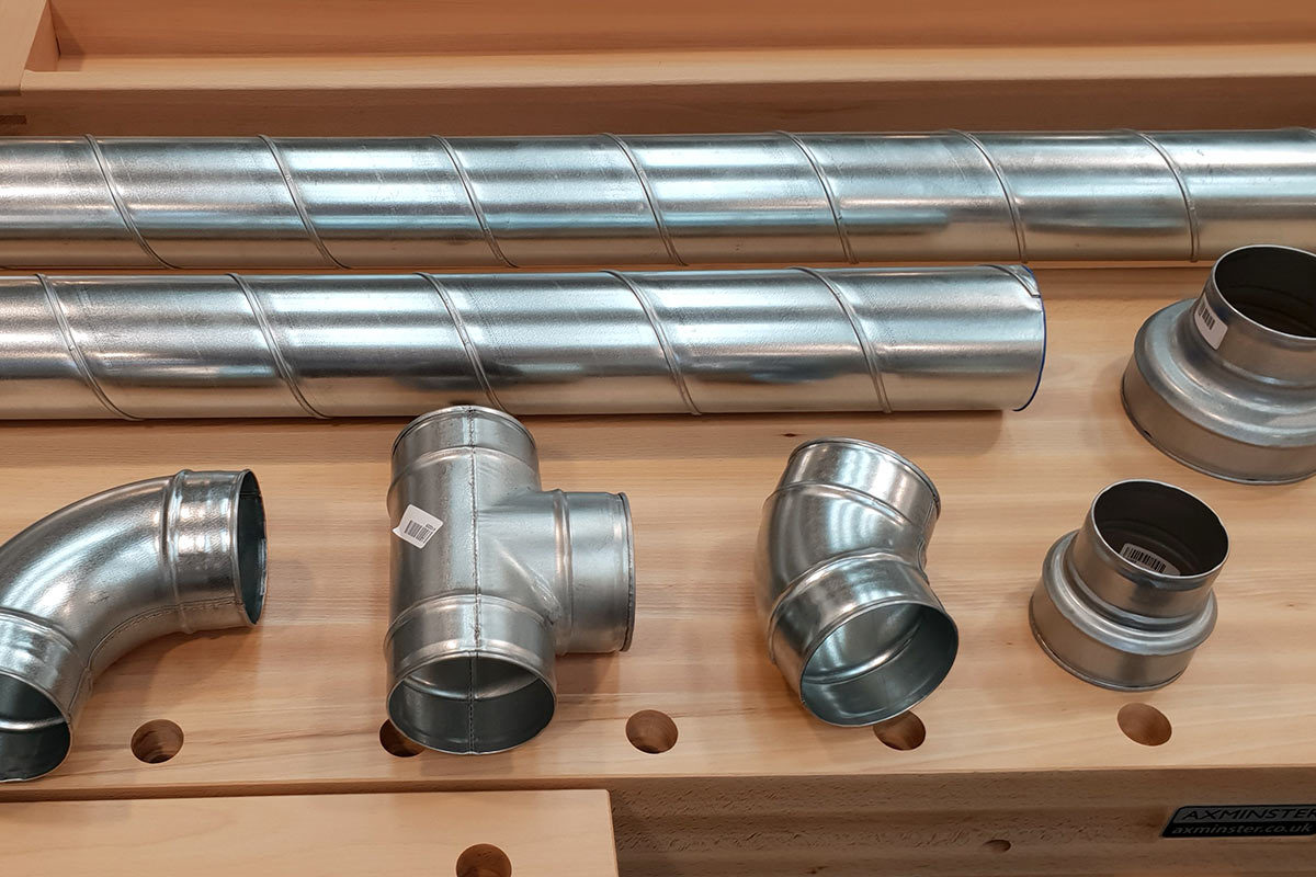 New Metal Ducting now in store - the professional choice for dust extraction