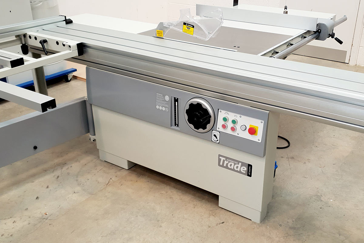 New Axminster Trade AT305PS Panel Saw - ask for a demonstration and find out how these machines will benefit your business