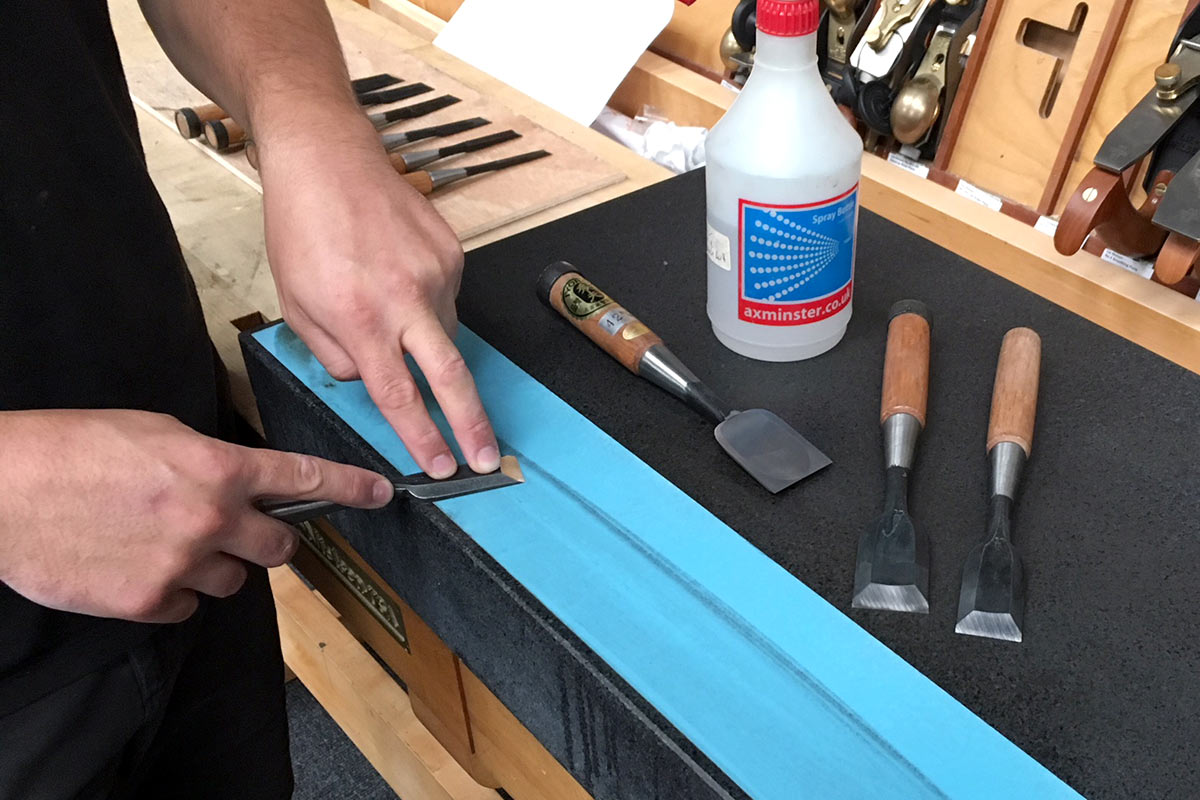 Japanese steel requires some extra TLC when sharpening - ask our in store experts how to get the best results
