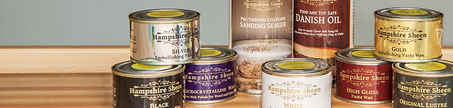 Hampshire Sheen product range
