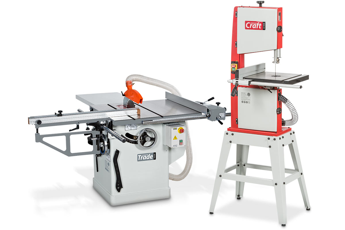 Axminster Trade Table Saw & Axminster Craft Bandsaw