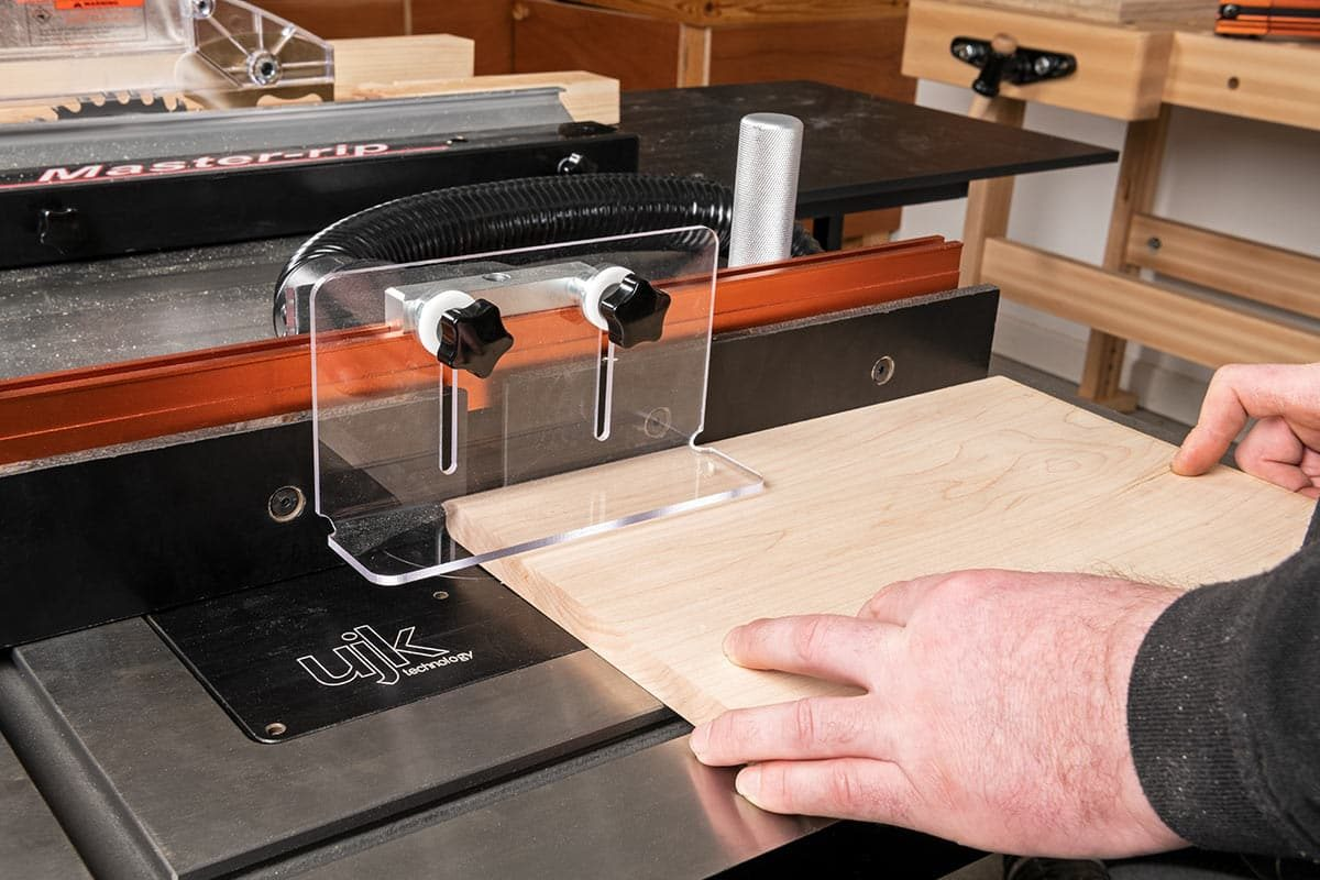 Axminster Trade Table Saw used as Router Table