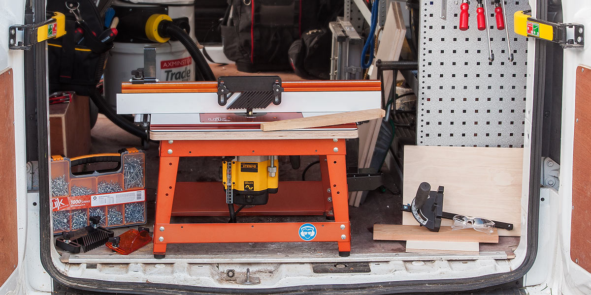 UJK Technology Compact Router Table